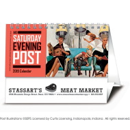 Picture for manufacturer The Saturday Evening Post Desk Calendar