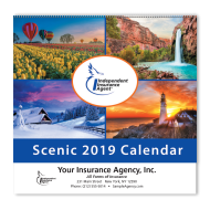 Picture for manufacturer IIABA® Custom Scenic Wall Calendar