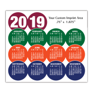 Picture for manufacturer Calendar Magnet - Circles