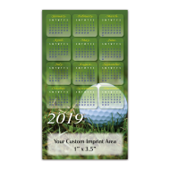 Picture for manufacturer Calendar Magnet - Golf Ball