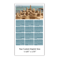 Picture for manufacturer Calendar Magnet - Sandcastle