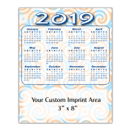 Picture for manufacturer Large Calendar Magnet - Swirls