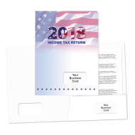 Picture for manufacturer Success Tax Return Folders (Year With Flag)