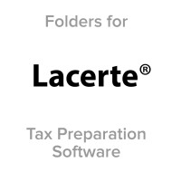 Picture for manufacturer Lacerte® Compatible Tax Folders
