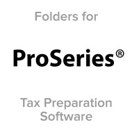 Picture for manufacturer Proseries® Compatible Tax Folders