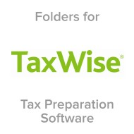 Picture for manufacturer TaxWise® Compatible Tax Folders