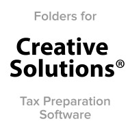 Picture for manufacturer Creative Solutions® Compatible Tax Folders
