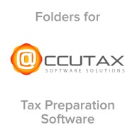 Picture for manufacturer Accutax® Compatible Tax Folders