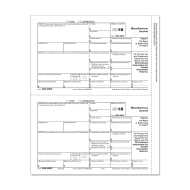 Picture for manufacturer Form 1099-MISC - Copy C Payer (5112)