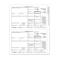 Picture for manufacturer Form 1099-MISC - Copy B Recipient (5111)