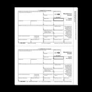 Picture for manufacturer Form 1099-MISC - Copy B Recipient (5111)