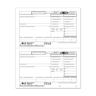 Picture for manufacturer Form W-2 - Copy B - Employee Federal IRS - 2up (5202)