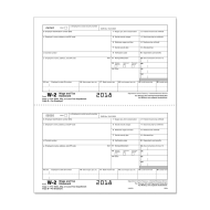 Picture for manufacturer Form W-2 - Copy D - Employer Copy - 2up (5204)