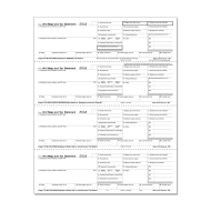 Picture for manufacturer Form W-2 - Employee Copies - Condensed - 4up (5206)