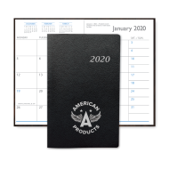 Picture for manufacturer Leatherette Monthly Pocket Planner