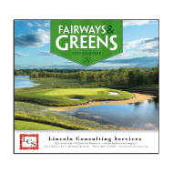 Picture for manufacturer Fairways & Greens Wall Calendar