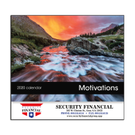 Picture for manufacturer Motivations Wall Calendar