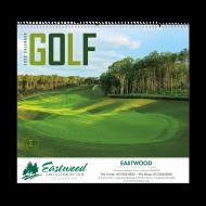 Picture for manufacturer Golf Wall Calendar - Spiral