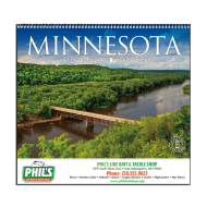 Picture for manufacturer Minnesota State Wall Calendar