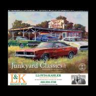 Picture for manufacturer Junkyard Classics Wall Calendar