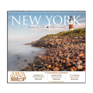 Picture for manufacturer New York State Wall Calendar - Spiral