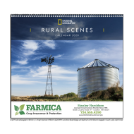 Picture for manufacturer National Geographic Rural Scenes Wall Calendar