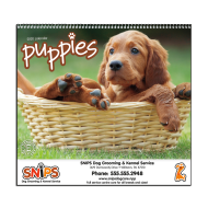 Picture for manufacturer Puppies Wall Calendar