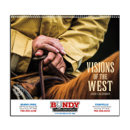 Picture for manufacturer Visions of the West Wall Calendar