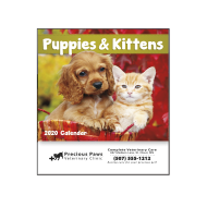 Picture for manufacturer Puppies & Kittens Mini Wall Calendar