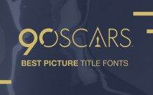 2018 Oscar Movie Poster Fonts