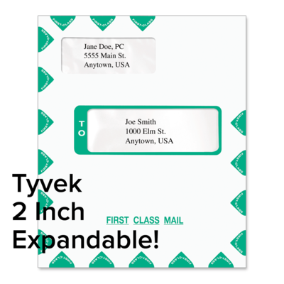 Picture of Tyvek Expandable 9 x 12 Tax Software Envelope