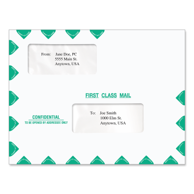 Picture of 9.5 x 11.5 Tax Software Envelope (Confidential)