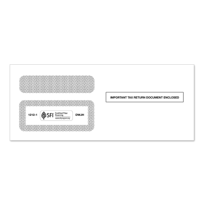 Picture of 1099 Double Window Envelope (1212)
