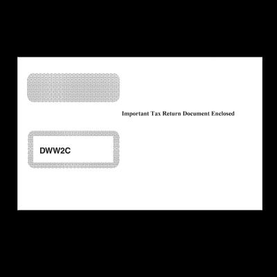 Picture of W-2C Double Window Envelope (DWW2C)