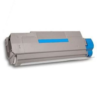 Picture of OKI C6100 Cyan Toner Cartridge (43324419)