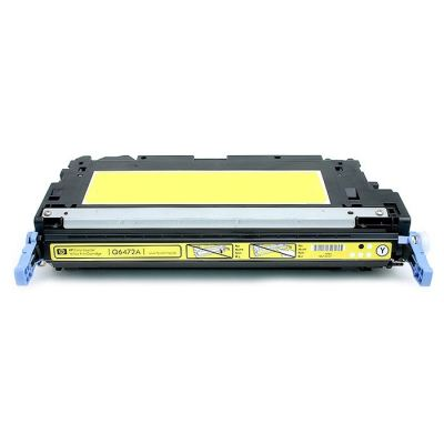Picture of HP 502A Yellow Toner Cartridge (Q6472A)