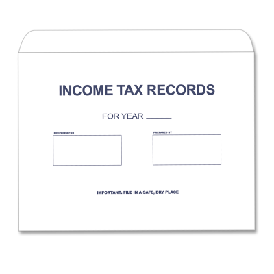 Picture of Income Tax Records Envelope