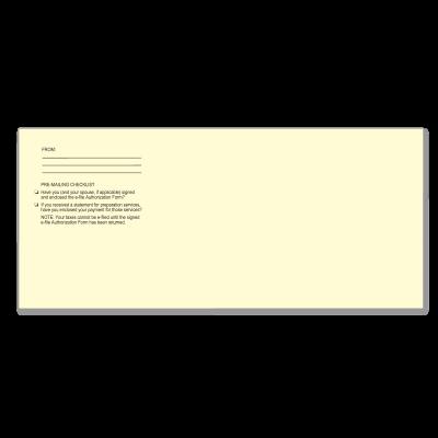 Picture of e-File Authorization Envelopes