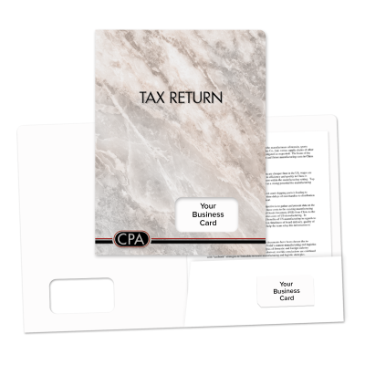 Picture of Success Tax Return Folders (CPA Logo)