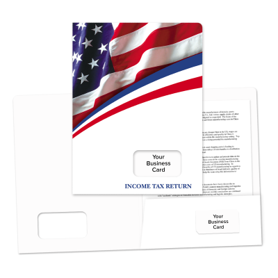 Picture of Success Tax Return Folders (Stars & Stripes)