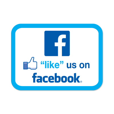 Like us on facebook media stickers mines press for Like us on facebook sticker template