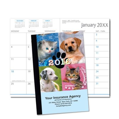 Picture of Puppies & Kittens Monthly Pocket Planner (CB06)