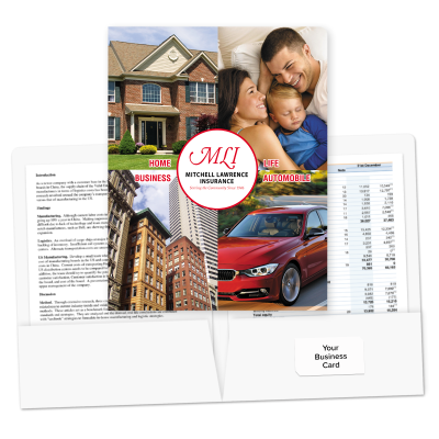 Picture of Pre-Designed Insurance Folders (Full Coverage)