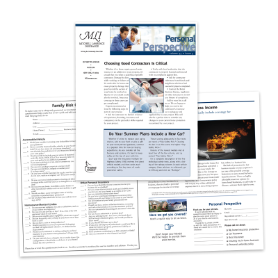 Picture of Personal Lines Insurance Newsletter