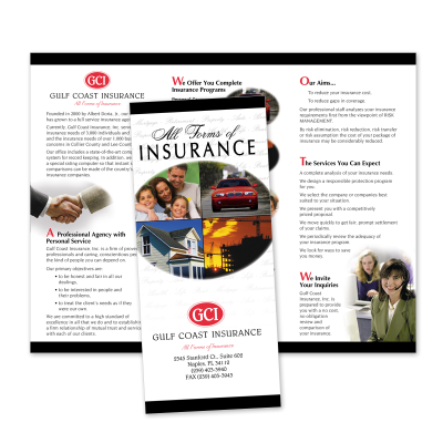 Picture of Agency Capabilities Brochure Style 503