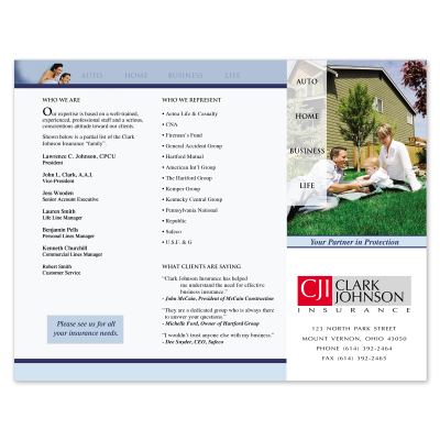 Picture of Agency Capabilities Brochure Style 505