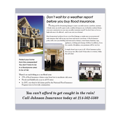 Picture of Flood Insurance Cross-Sell Brochure