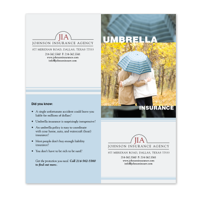 Picture of Umbrella Cross-Sell Brochure