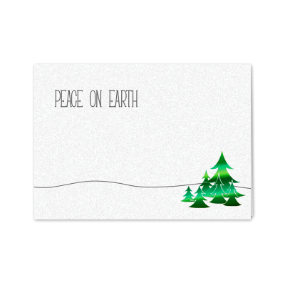 Picture of Green Peace on Earth Greeting Card