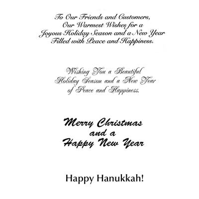 Picture of Holiday Business Appreciation Greeting Card